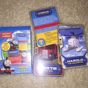 Thomas & Friends trading cards New